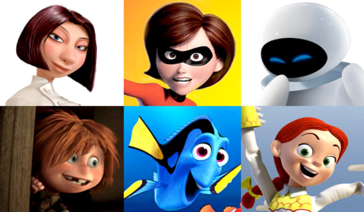 Female Disney Pixar Characters