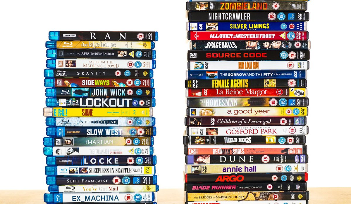 Top websites to  buy DVD Blu-ray movies online