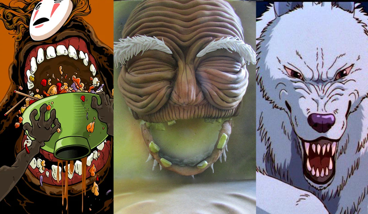 scary ghibli characters